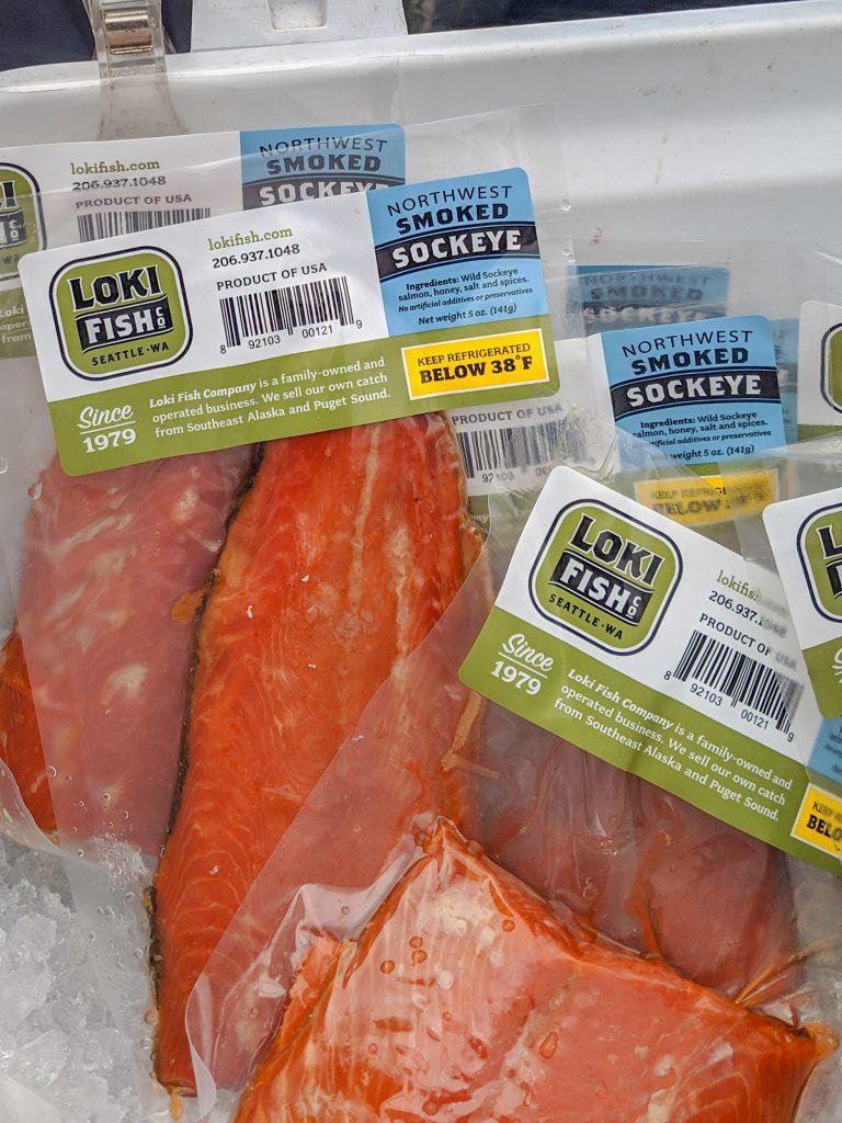 Loki Fish Co smoked salmon